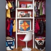 Как организовать гардеробную в маленькой квартире