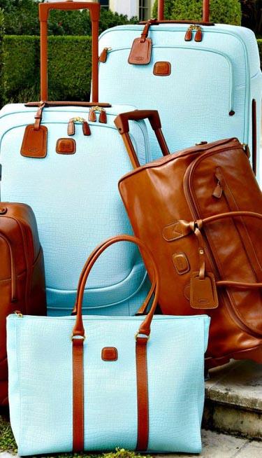 В дорогу: стильные чемоданы (часть 1)