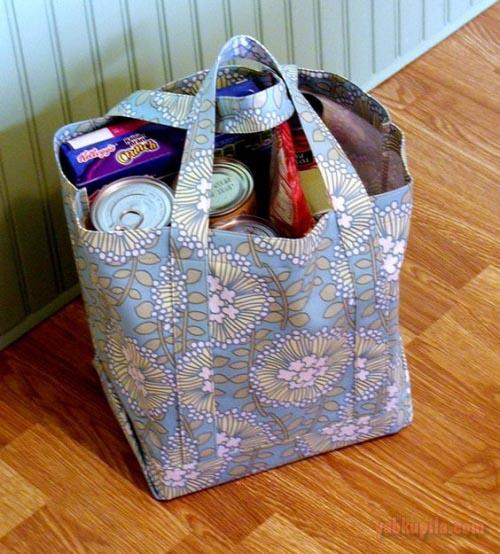 Как сшить сумку для шопинга 73