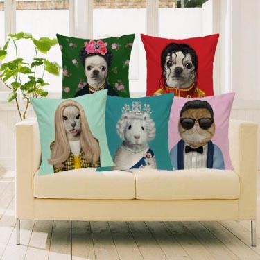 Классные подушки с мульт-знаменитостями