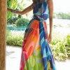 Летний длинный сарафан: фото модных образов