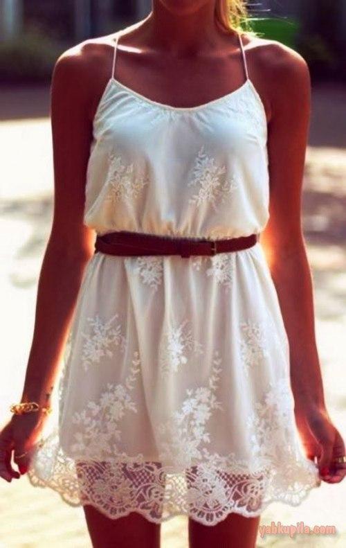 Кружевные платья для лето