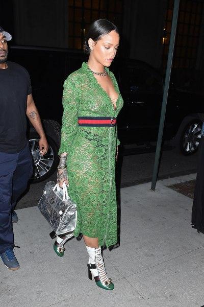 Универсальное платье: Рианна и Джулия Робертс в Gucci