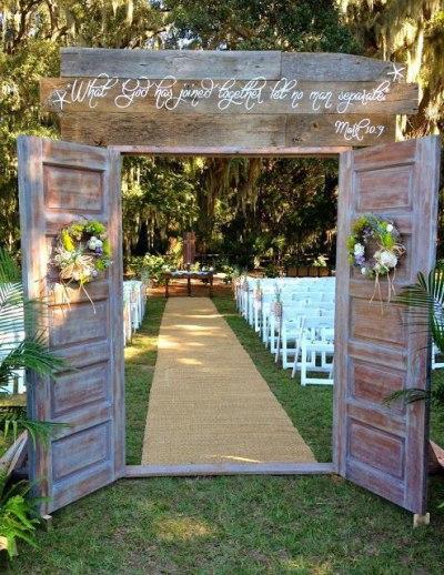 Элегантная свадьба в деревне: стиль rustic