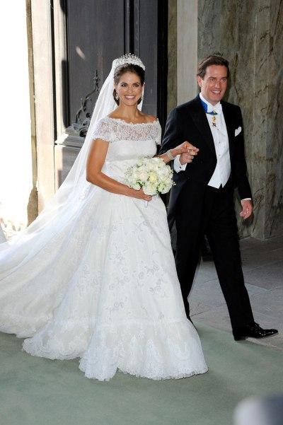 Захватывающие свадебные платья принцесс