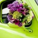 Украшение свадебной машины: 17 фото