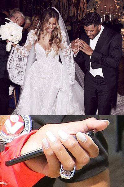 Сиара, свадьба и кольцо за 2 миллиона долларов