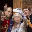 Что может позволить себе королева Великобритании?