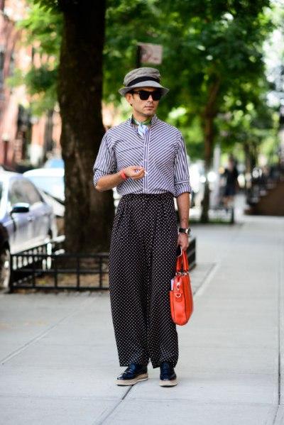 Мужской стиль на улицах Нью-Йорка