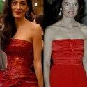 Сравниваем стиль: Амаль Клуни VS Жаклин Кеннеди