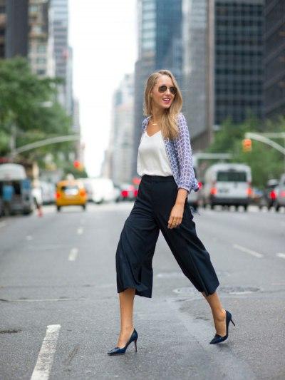 Что такое брюки-кюлоты и с чем их носить?