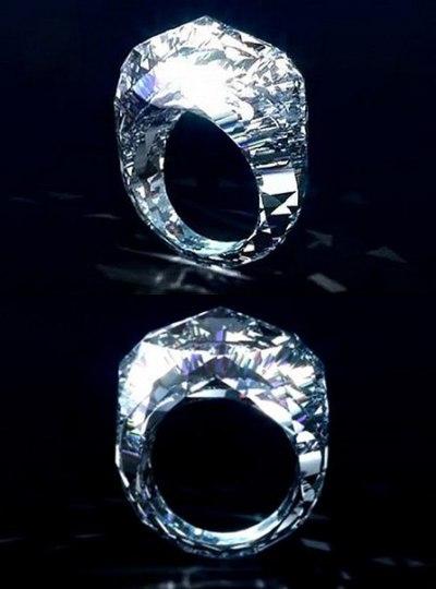 Самое дорогое кольцо в мире за 70 миллионов $