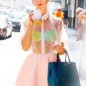 Как носить прозрачное платье? Звездные примеры!