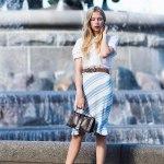 Как носить полосатую одежду?
