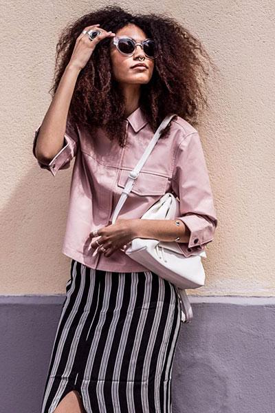 С чем носить юбку летом: свежие образы