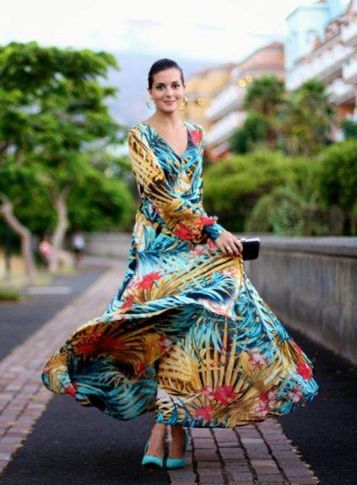 Тропический принт в модных образах