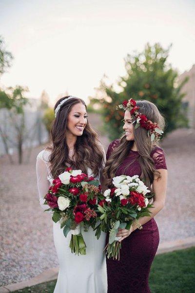 В чем пойти на свадьбу осенью, если вы подружка невесты