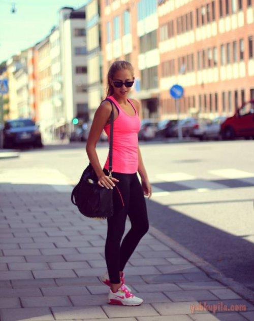 В чем ходить в спортзал девушке (фото)