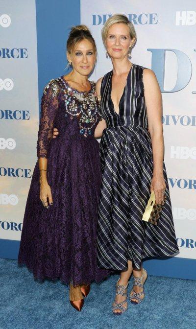 Синтия Никсон поздравила Сару Джессику Паркер с премьерой