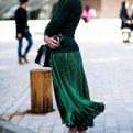 Плиссированная юбка в тренде! Как и с чем носить?
