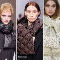 Модные перчатки, шарфы, ремни и колготки