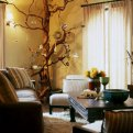 Ветки в интерьере – простой и модный экодизайн