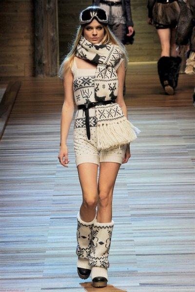 Шарфы 2019: все модные тенденции на фото