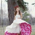 Цветное свадебное платье: лучшие идеи!