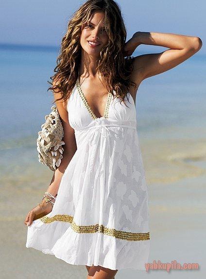 Пляжное платье картинки