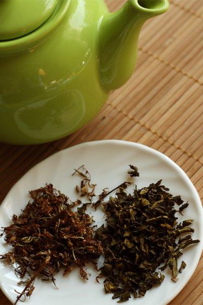 Полезный напиток - чай из цветков