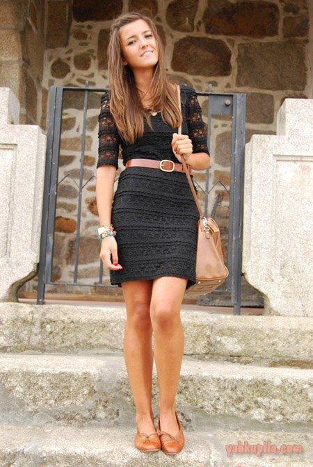 Черное летнее платье фото лучших образов
