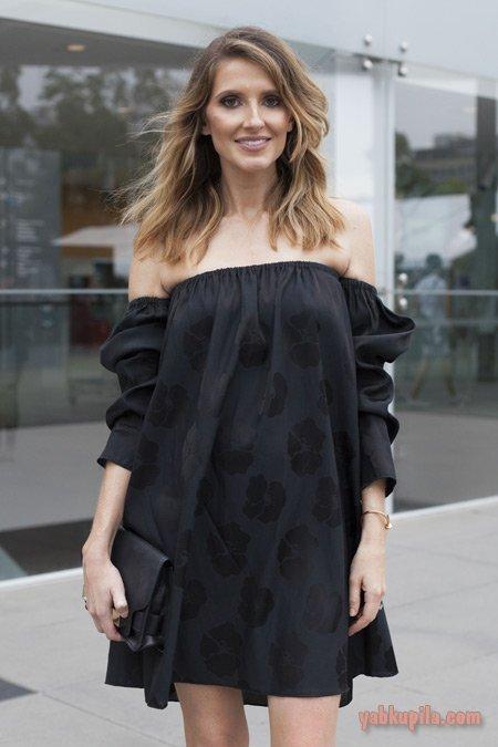 f3e65b97bc87 Если выбрать черное летнее платье именно в таком исполнении, получите образ  легкий, воздушный, а спущенные плечи придают дух романтики.