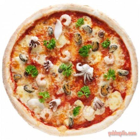 Пицца с морепродуктами в домашних условиях: рецепт с фото 2
