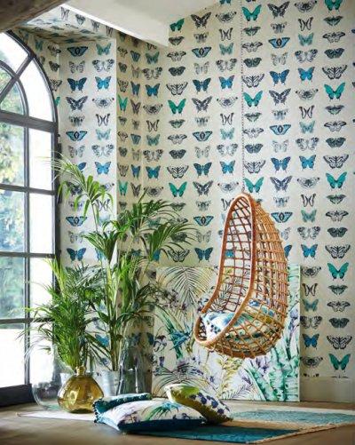 Тропический стиль в интерьере: 24 фото
