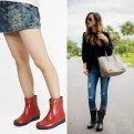Модные резиновые сапоги: как и с чем носить