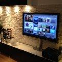 Куда поставить большой телевизор