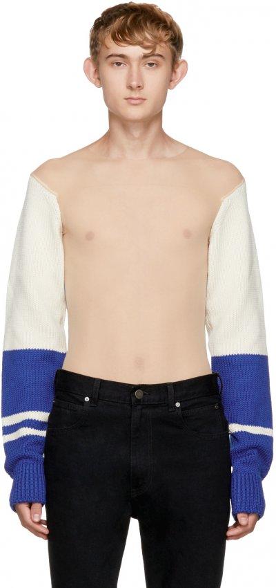 «Голый» свитер от Calvin Klein стал вещью дня