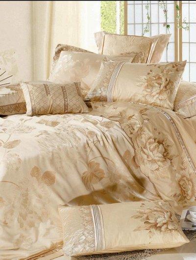 Постельное белье жаккард - секрет роскошной спальни