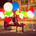Гелиевые светящиеся шары - украшение любого детского торжества