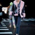 С чем носить дубленку: фото стильных моделей