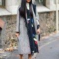 Как носить пальто в клетку: образы, бренды, советы