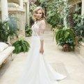 Свадебные платья А-силуэта - история и особенности