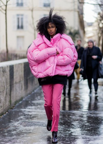 Куртка-зефирка: с чем носить самые модные пуховики