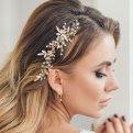 Самые модные украшения для свадебной причёски
