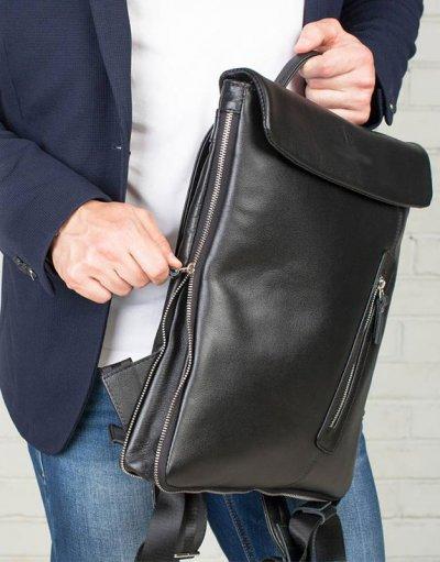 Кожаный рюкзак для делового мужчины