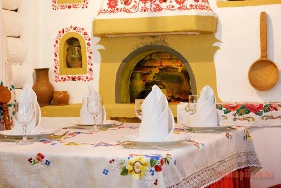 Настоящие национальные традиции в ресторане украинской кухни